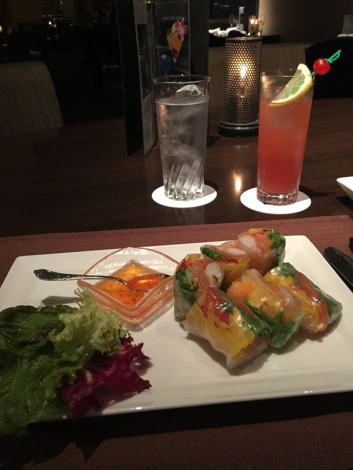 Authentic Japanese Spring Roll